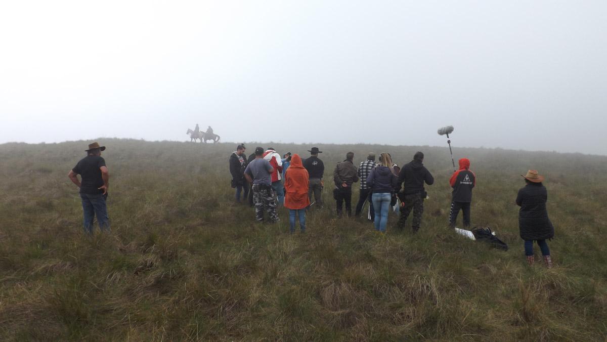 10. Equipe de filmagens do longa em Cambará do Sul-RS - by Tomás Ruas