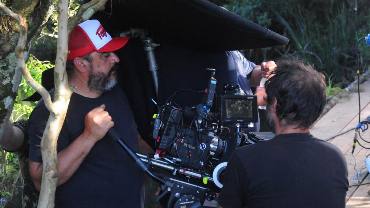 22. Diretor de fotografia Alexandre Berra com o assistente Pablo Rosa - by Dulce Helfer