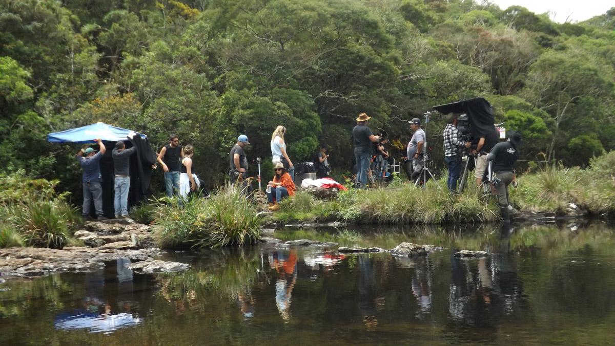 6. Set de filmagens em Cambará do Sul-RS - by Tomás Ruas